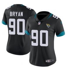 Women's Nike Jacksonville Jaguars #90 Taven Bryan Teal Green Team Color Vapor Untouchable Limited Player NFL Jersey