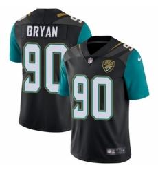 Youth Nike Jacksonville Jaguars #90 Taven Bryan Black Alternate Vapor Untouchable Limited Player NFL Jersey