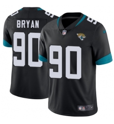 Youth Nike Jacksonville Jaguars #90 Taven Bryan Teal Green Team Color Vapor Untouchable Limited Player NFL Jersey