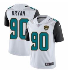 Youth Nike Jacksonville Jaguars #90 Taven Bryan White Vapor Untouchable Limited Player NFL Jersey