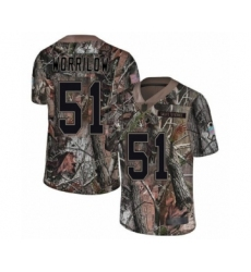 Youth Philadelphia Eagles #51 Paul Worrilow Camo Rush Realtree Limited Football Jersey