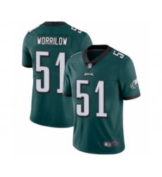 Youth Philadelphia Eagles #51 Paul Worrilow Midnight Green Team Color Vapor Untouchable Limited Player Football Jersey