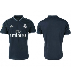 2018-2019 Real Madrid away aaa version blank Club Soccer Jersey
