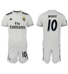 2018-2019 Real Madrid home 10 Club Soccer Jersey