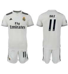 2018-2019 Real Madrid home 11 Club Soccer Jersey
