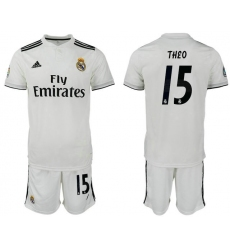 2018-2019 Real Madrid home 15 Club Soccer Jersey