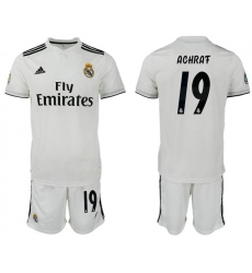 2018-2019 Real Madrid home 19 Club Soccer Jersey