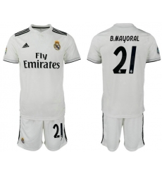 2018-2019 Real Madrid home 21 Club Soccer Jersey
