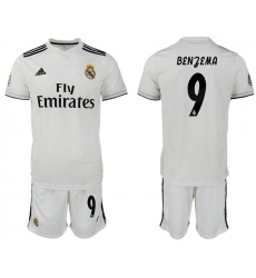 2018-2019 Real Madrid home 9 Club Soccer Jersey