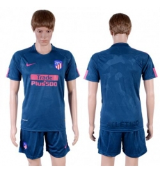 Atletico Madrid Blank Sec Away Soccer Club Jersey