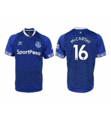 2018-2019 Everton FC home aaa versio 16 Club Soccer Jersey