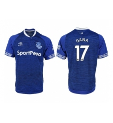 2018-2019 Everton FC home aaa versio 17 Club Soccer Jersey
