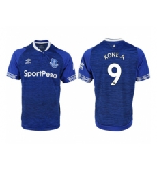 2018-2019 Everton FC home aaa versio 9 Club Soccer Jersey