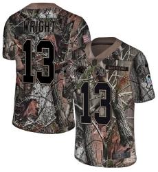 Youth Nike Carolina Panthers #13 Jarius Wright Camo Rush Realtree Limited NFL Jersey