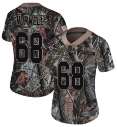 Women's Nike Jacksonville Jaguars #68 Andrew Norwell Camo Rush Realtree Limited NFL Jersey