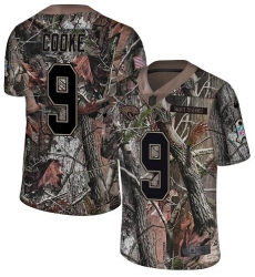 Men's Nike Jacksonville Jaguars #9 Logan Cooke Camo Rush Realtree Limited NFL Jersey