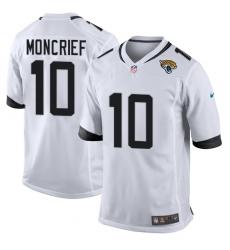 Men's Nike Jacksonville Jaguars #10 Donte Moncrief Game White NFL Jersey