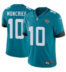 Men's Nike Jacksonville Jaguars #10 Donte Moncrief Teal Green Alternate Vapor Untouchable Limited Player NFL Jersey