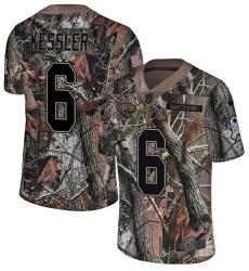 Men's Nike Jacksonville Jaguars #6 Cody Kessler Camo Rush Realtree Limited NFL Jersey