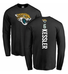 NFL Nike Jacksonville Jaguars #6 Cody Kessler Black Backer Long Sleeve T-Shirt