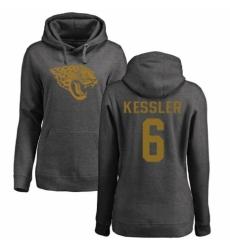 NFL Women's Nike Jacksonville Jaguars #6 Cody Kessler Ash One Color Pullover Hoodie