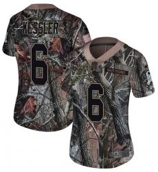 Women's Nike Jacksonville Jaguars #6 Cody Kessler Camo Rush Realtree Limited NFL Jersey
