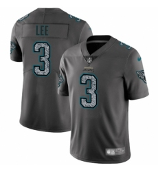 Youth Nike Jacksonville Jaguars #3 Tanner Lee Gray Static Vapor Untouchable Limited NFL Jersey