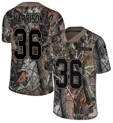 Men's Nike Jacksonville Jaguars #36 Ronnie Harrison Camo Rush Realtree Limited NFL Jersey