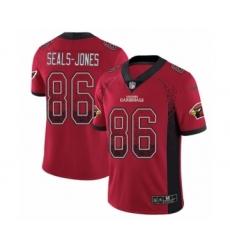 Men's Nike Arizona Cardinals #86 Ricky Seals-Jones Limited Red Rush Drift Fashion NFL Jersey