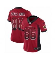 Women's Nike Arizona Cardinals #86 Ricky Seals-Jones Limited Red Rush Drift Fashion NFL Jersey