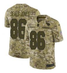 Youth Nike Arizona Cardinals #86 Ricky Seals-Jones Limited Camo 2018 Salute to Service NFL Jersey