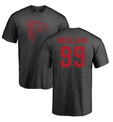 NFL Nike Atlanta Falcons #99 Terrell McClain Ash One Color T-Shirt