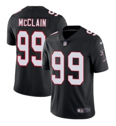 Youth Nike Atlanta Falcons #99 Terrell McClain Black Alternate Vapor Untouchable Limited Player NFL Jersey