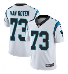 Men's Nike Carolina Panthers #73 Greg Van Roten White Vapor Untouchable Limited Player NFL Jersey