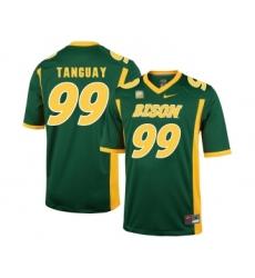 North Dakota State Bison 99 Nate Tanguay Green College Football Jersey