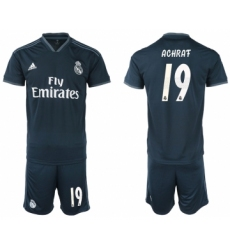 2018-19 Real Madrid 19 ACHRAF Away Soccer Jersey