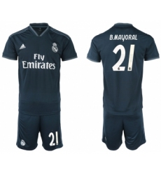 2018-19 Real Madrid 21 B.MAYORAL Away Soccer Jersey