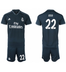2018-19 Real Madrid 22 ISCO Away Soccer Jersey