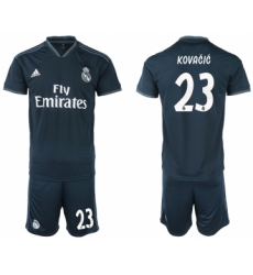 2018-19 Real Madrid 23 KOVACIC Away Soccer Jersey