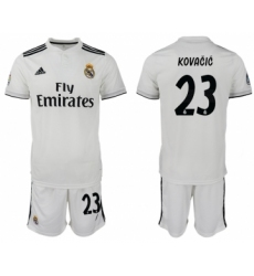 2018-19 Real Madrid 23 KOVACIC Home Soccer Jersey