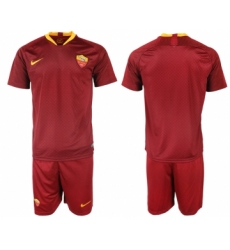 2018-19 Roma Home Soccer Jersey