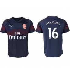 2018-19 Arsenal 16 HOLDING Away Thailand Soccer Jersey