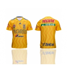 2018-19 Tigres UANL Home Thailand Soccer Jersey