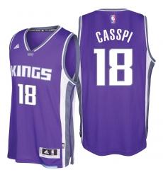 Sacramento Kings #18 Omri Casspi 2016-17 Seasons Purple Road New Swingman Jersey