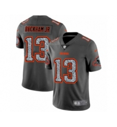 Men's Cleveland Browns #13 Odell Beckham Jr. Limited Gray Static Fashion Limited Football Jersey