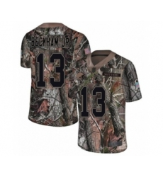 Men's Odell Beckham Jr. Limited Camo Nike Jersey NFL Cleveland Browns #13 Rush Realtree
