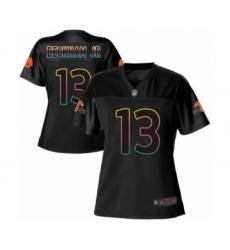 Women's Odell Beckham Jr. Game Black Nike Jersey NFL Cleveland Browns #13 Fashion