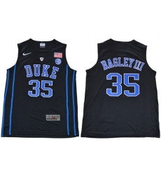 Duke Blue Devils #35 Marvin Bagley III Black Basketball Elite Stitched NCAA Jersey
