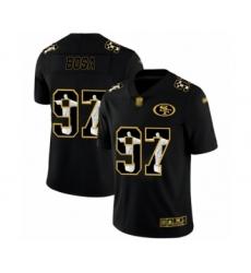 Men's San Francisco 49ers #97 Nick Bosa Black Jesus Faith Limited Football Jersey