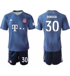Bayern Munchen #30 Dorsch Third Soccer Club Jersey